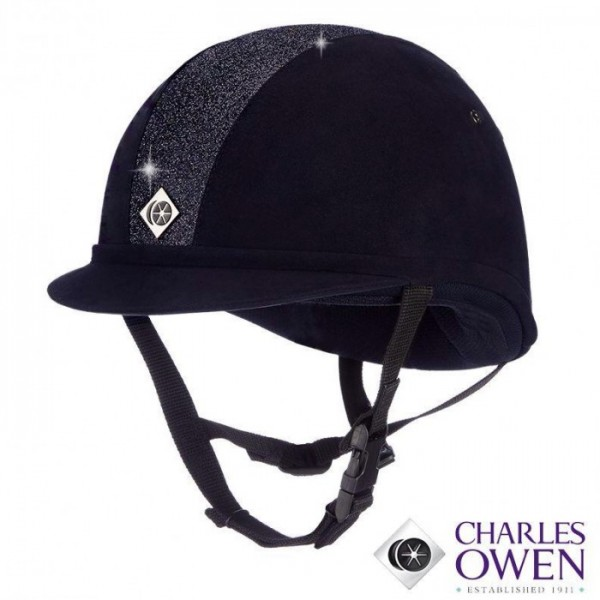 Charles Owen YR8 Sparkly Riding Hat-443
