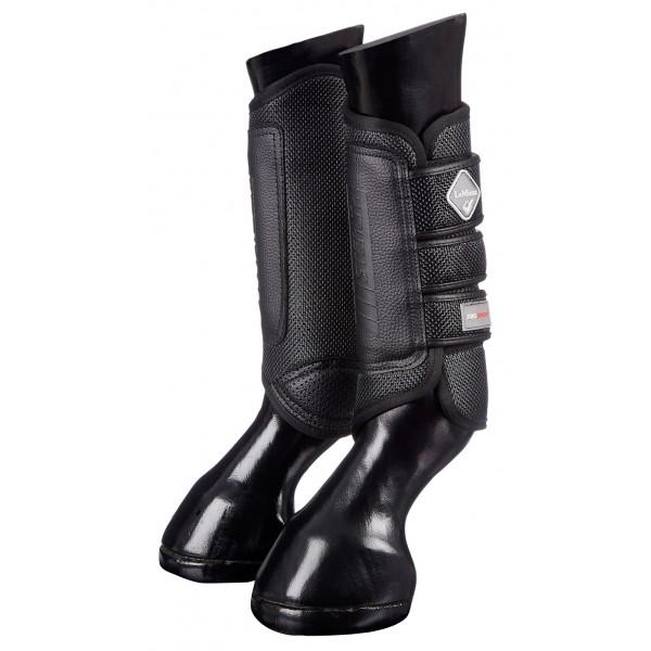 LeMieux Stealth Air XC Boots Back-0