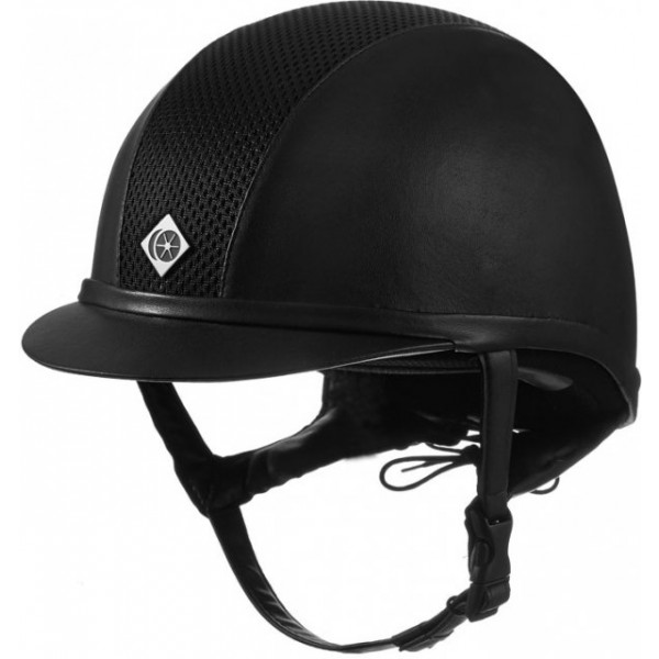 Charles Owen Ayr8® Leather Look Riding Hat-0
