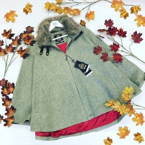 Toggi Ladies Blyth Tweed Cape-0