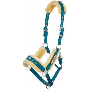 LeMieux Loire Fleece Lined Headcollar comfort
